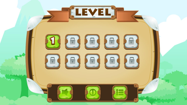 Super Knight Adventure Level Select Screenshot.