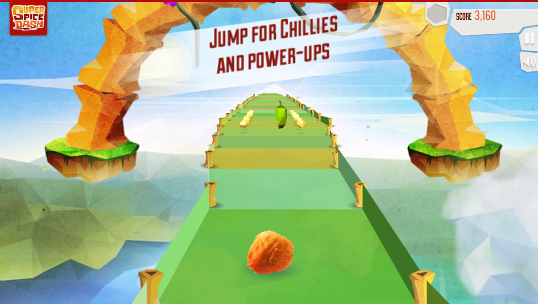 Super Spice Dash Game Extra Tips Screenshot.