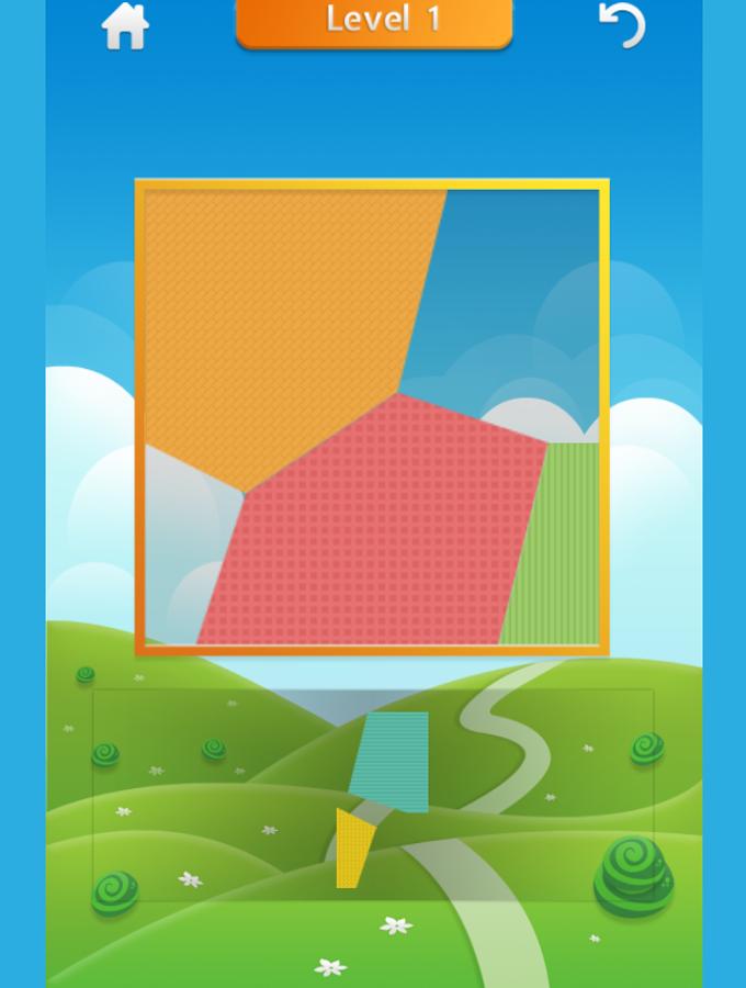 Tangram Game Screenshot.