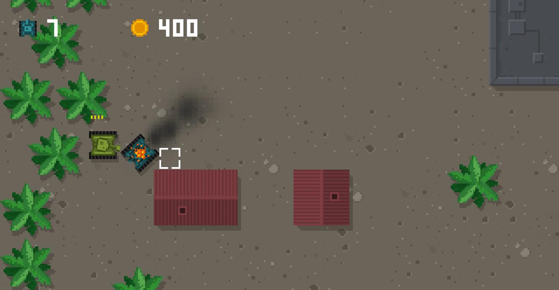 Tank Arena Game Screenshot.