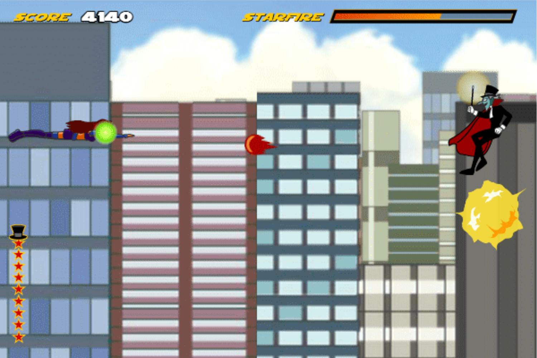 Teen Titans Go One on One Game Screenshot.