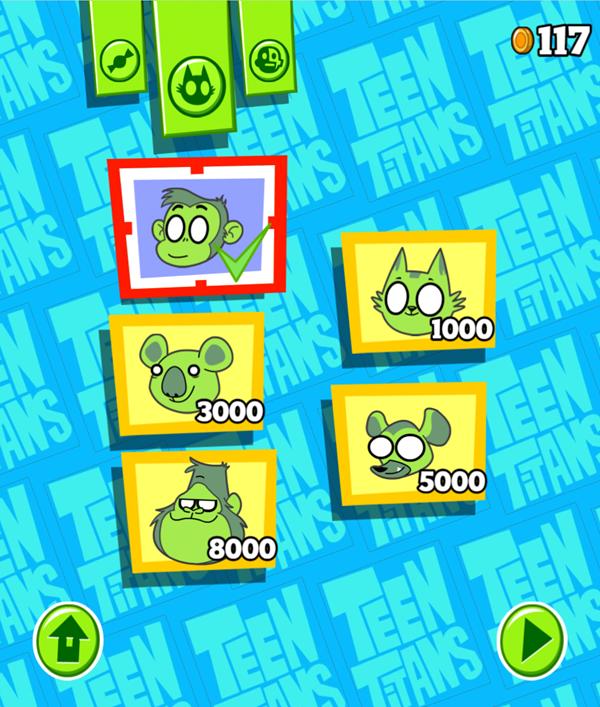Teen Titans Go Animal Store Screenshot.