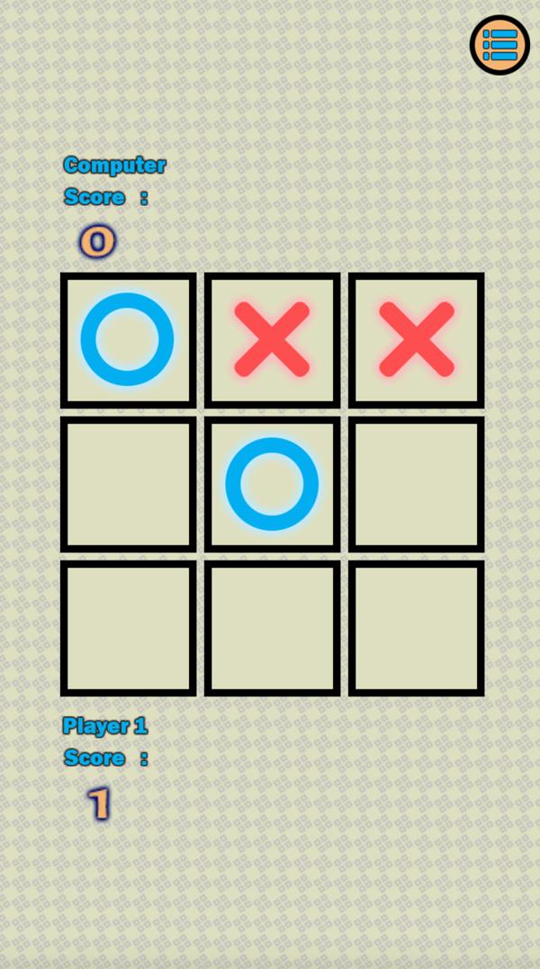 Tic Tac Toe In Game  Screenshot.