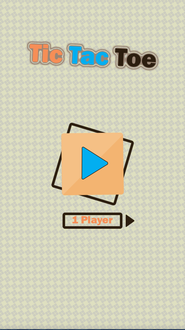 Tic Tac Toe Game Screenshot.