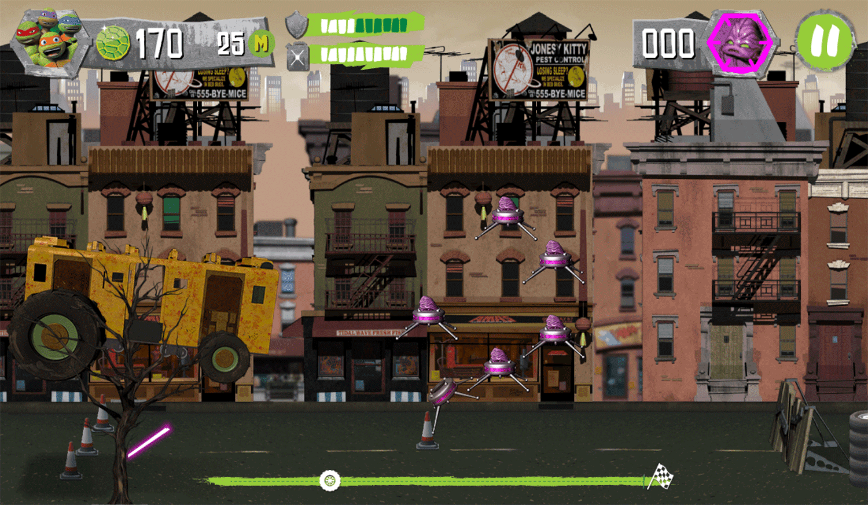 TMNT Build N Battle Game Screenshot.