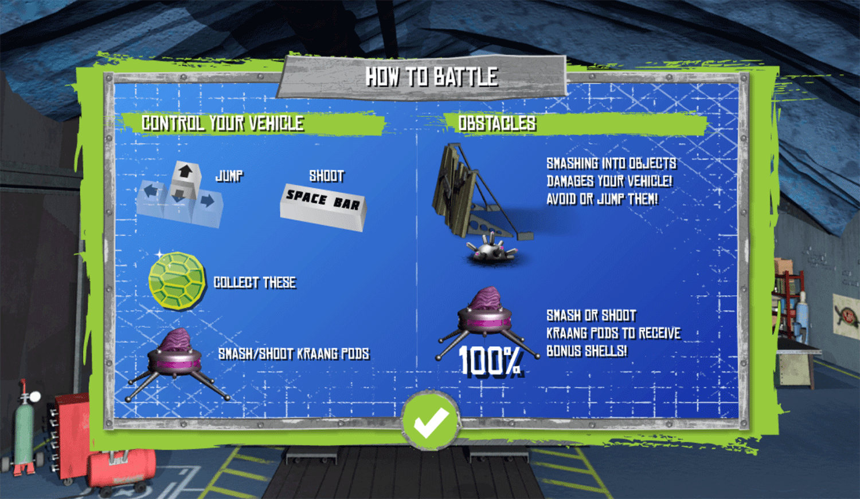 TMNT Build N Battle Instructions Screenshot.