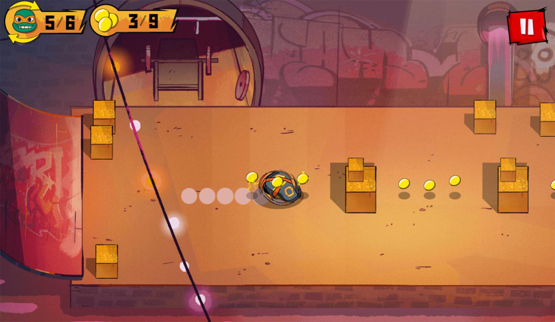 TMNT Bumper Bros Game Screenshot.