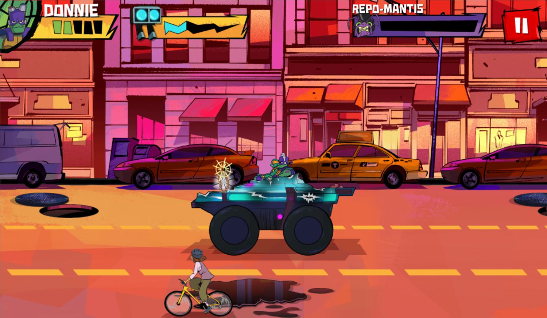 TMNT Epic Mutant Missions Last Level Beat Screenshot.