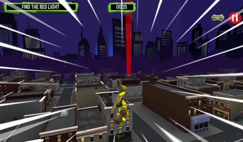 TMNT Turflytie Quest 3D Game Screenshot.