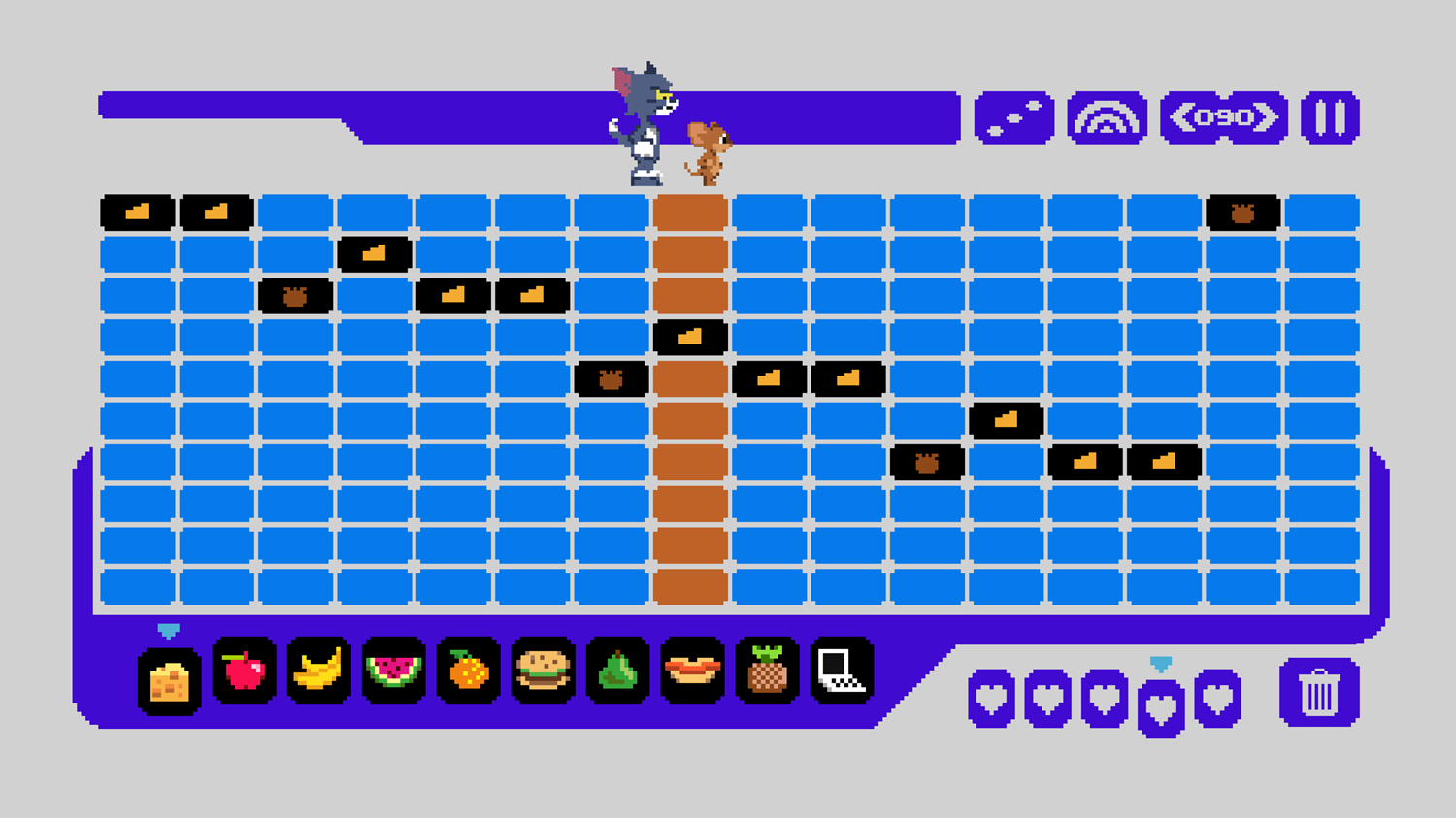 Tom and Jerry Music Maker Game Screenshot.