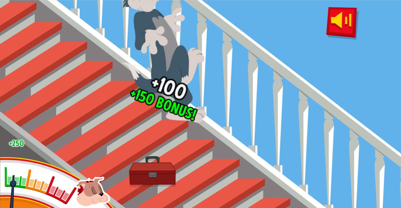 Tom and Jerry Musical Stairs Bonus Screenshot.
