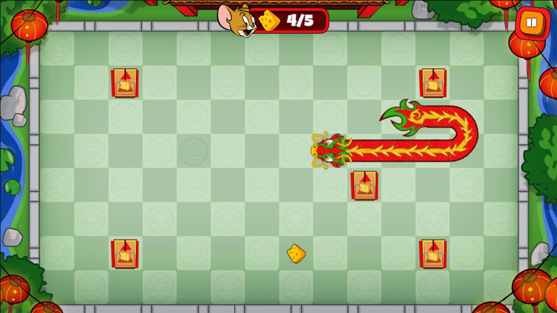 Tom and Jerry Parade Pranks Game Screenshots.