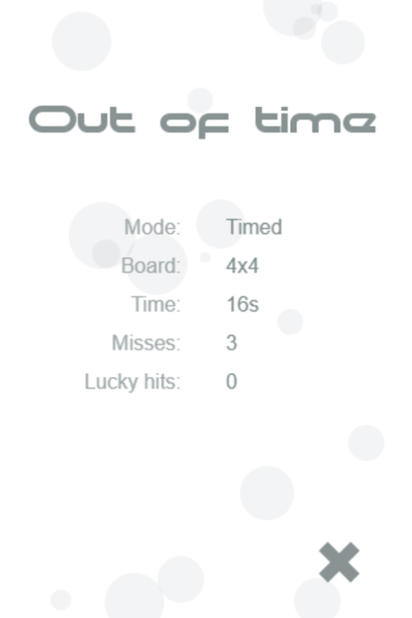 Tonality Game Out of Time Screenshot.