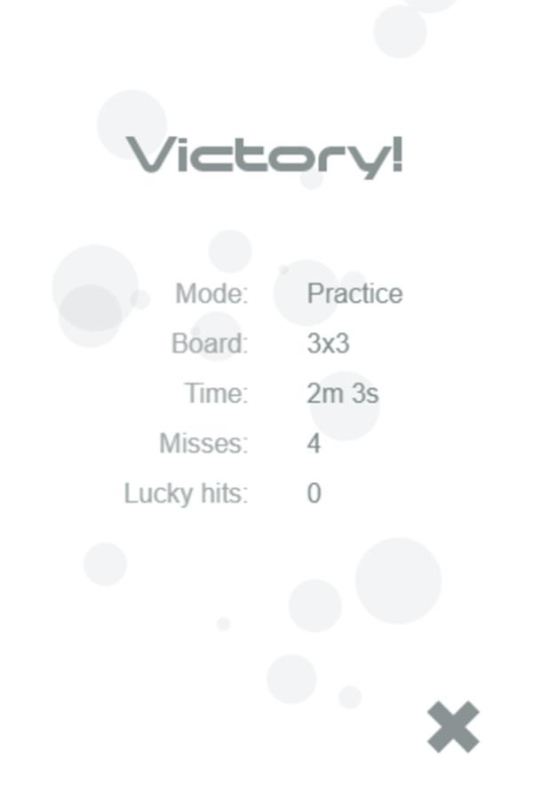 Tonality Game Victory Screenshot.