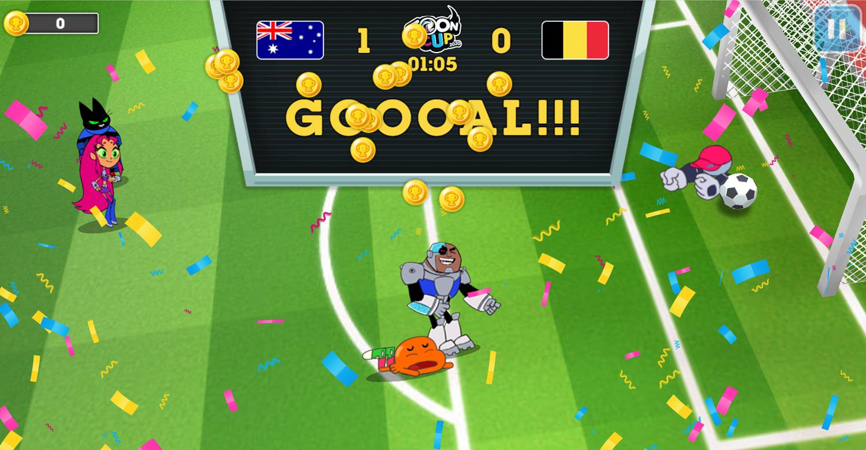 Toon Cup 2020 Goal Scored Screenshot.