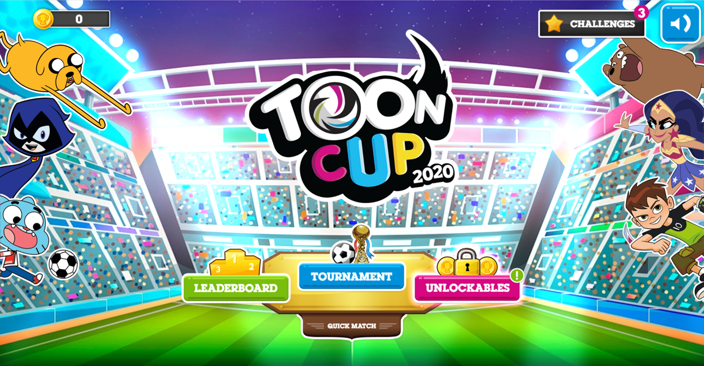 Toon Cup 2020 Welcome Screen Screenshot.