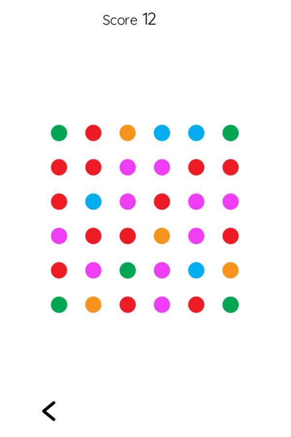 Two Dots Game Screenshot.