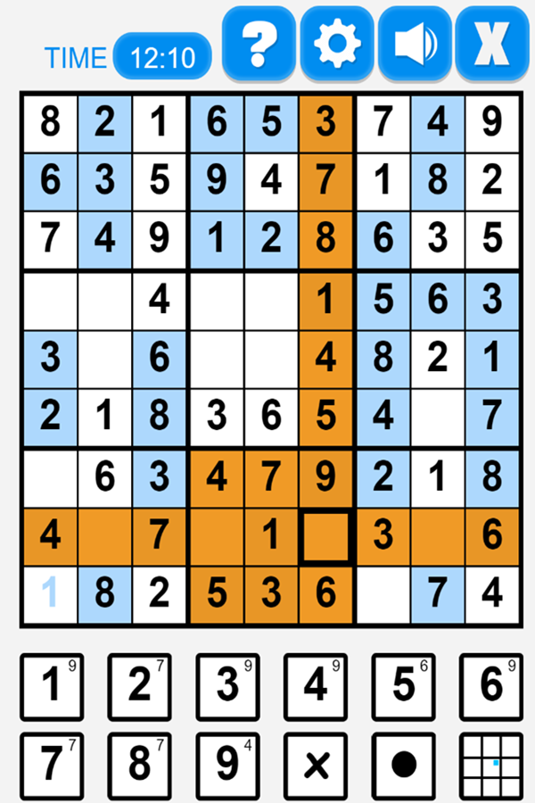 Ultimate Sudoku Game  Hint Screenshot.