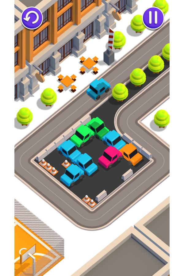 Unpark Jam Game Screenshot.