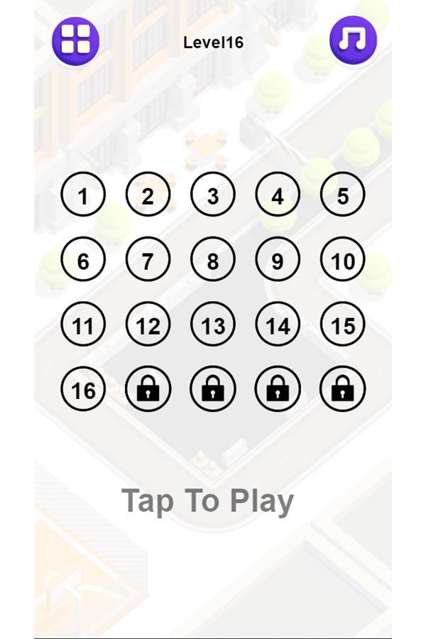 Unpark Jam Game Levels.