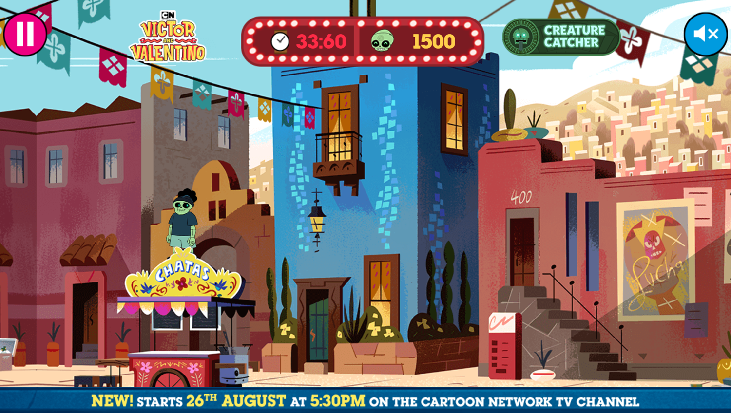 Victor and Valentino Mission to Monte Macabre Case Game Creature Catcher Gameplay Screenshot.