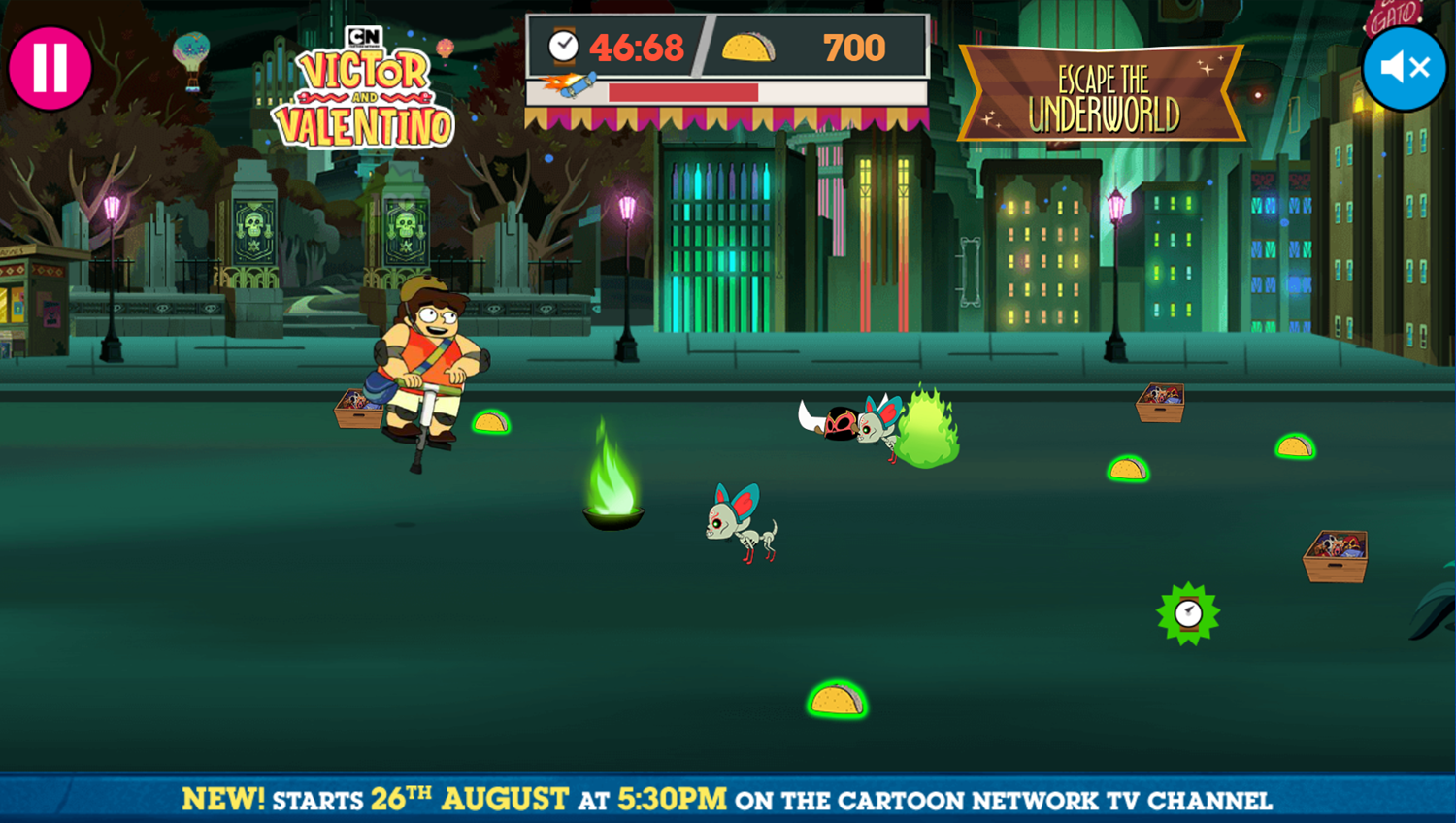 Victor and Valentino Mission to Monte Macabre Case Game Escape The Underworld Gameplay Screenshot.