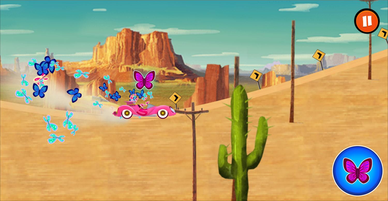 Wacky Races Road Trip Power Up Screenshot.