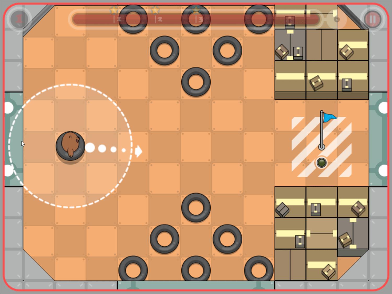 We Bare Bears Bouncy Cubs Game Screenshot.