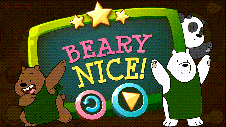 We Bare Bears Chocolate Artist Result Screenshot.
