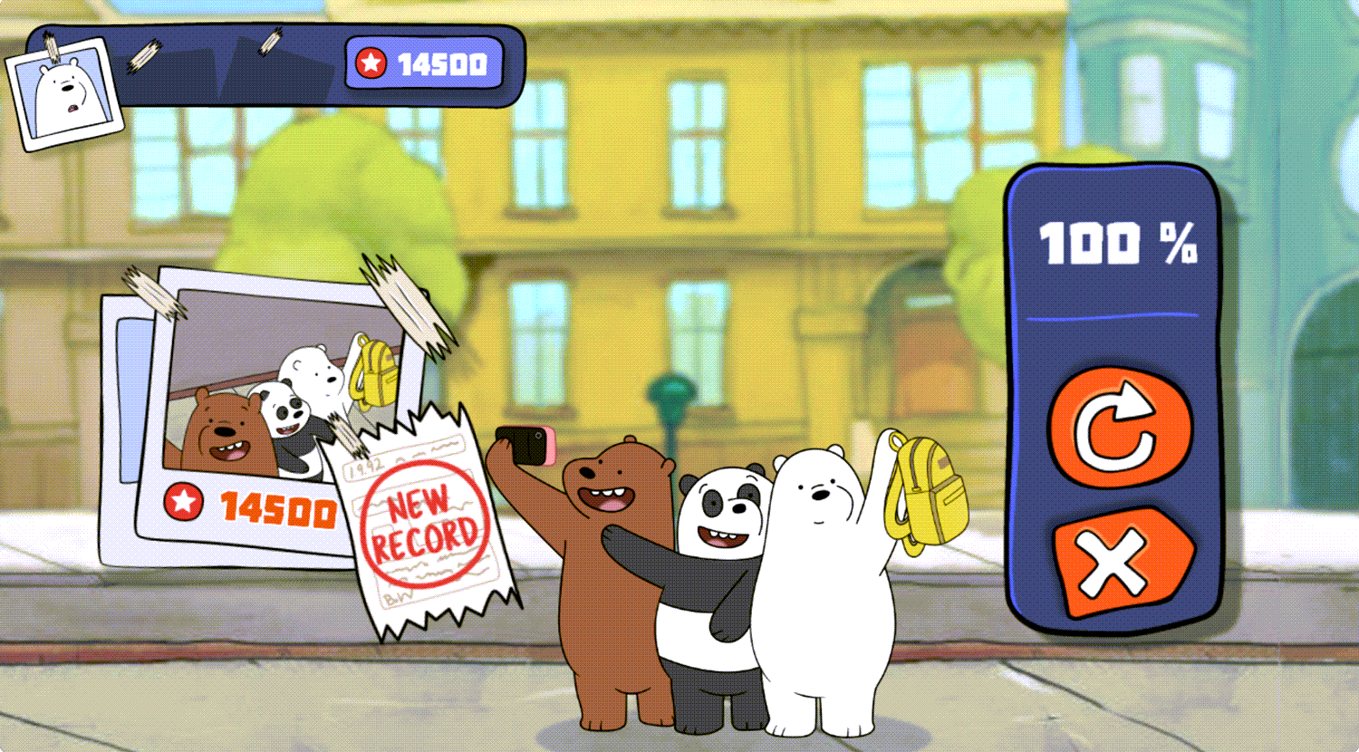 We Bare Bears Feathered Chase New Record Screenshot.
