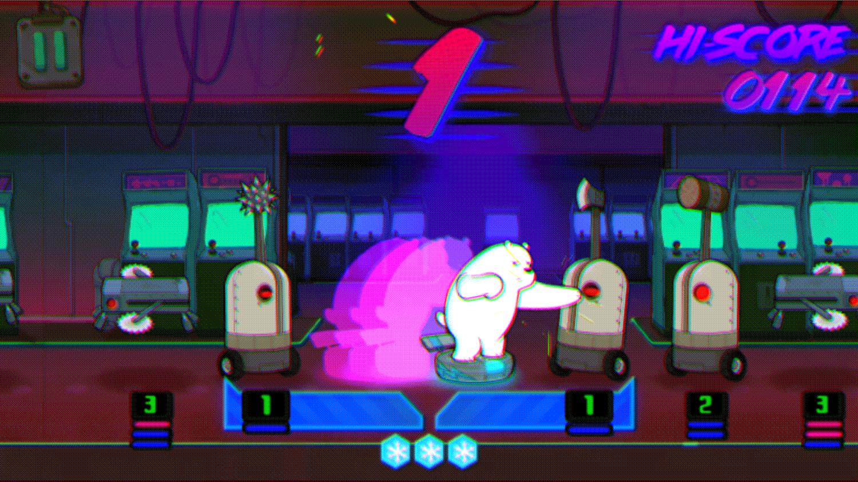We Bare Bears Polar Force Fighting Screenshot.