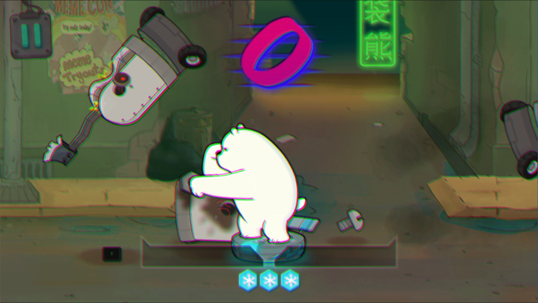 We Bare Bears Polar Force Result Screenshot.