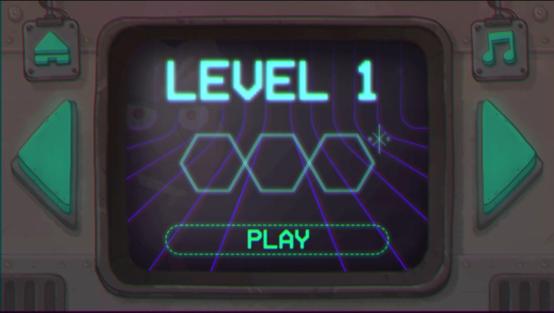 We Bare Bears Polar Force Level Select Screenshot.