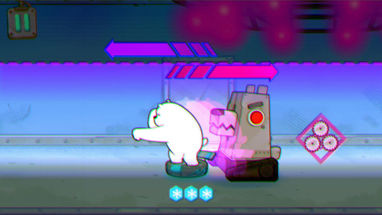 We Bare Bears Polar Force Mechanical Dog Screenshot.