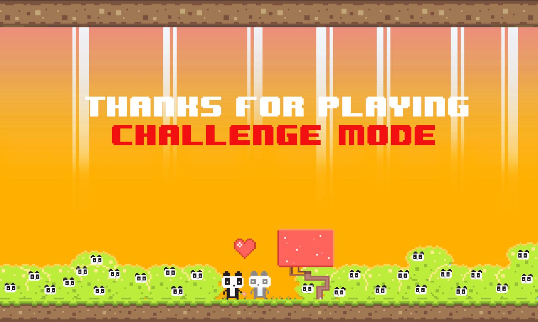 We Love Pandas Challenge mode Game Complete Screenshot.