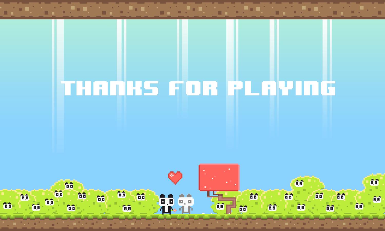 We Love Pandas Game Complete Screenshot.