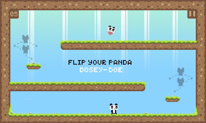 We Love Pandas Game Play Screenshot.