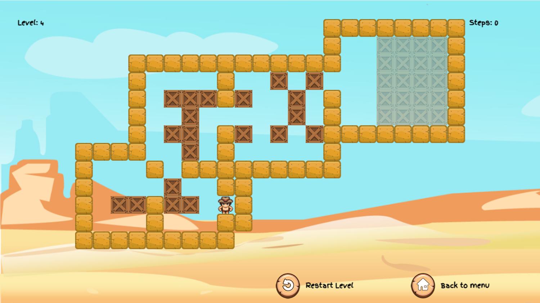 Wild Cowboy Game Screenshot.