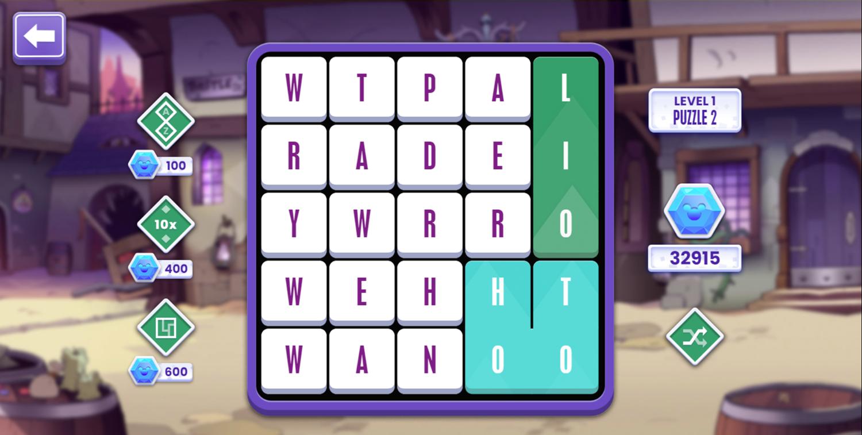 Word Play Game Screenshot.