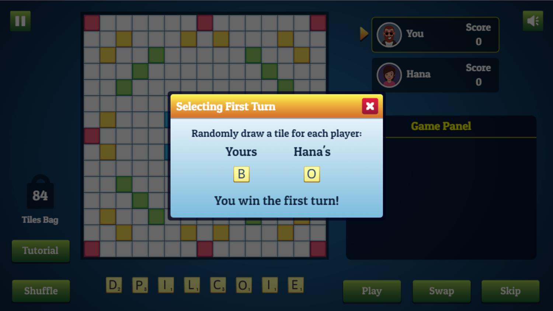 Wordmeister Game Draw Screen Screenshot.