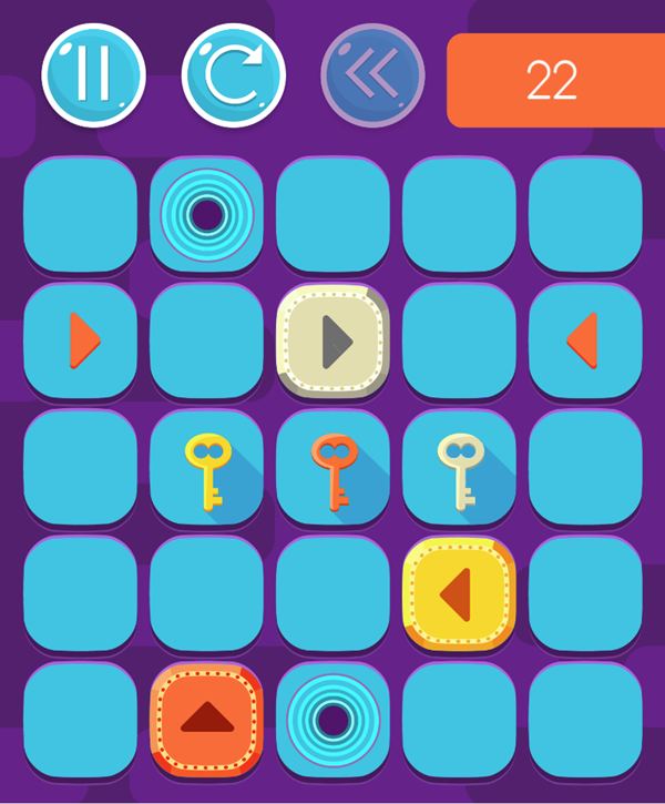 Zippy Boxes Game Screenshot.