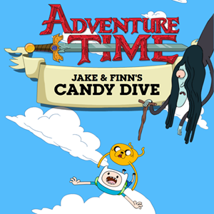 Adventure Time Candy Dive Game.