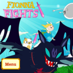 Adventure Time Fiona Fights.