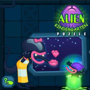 Alien Kindergarten Game.