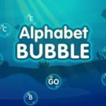 Alphabet Bubble Letter Match.