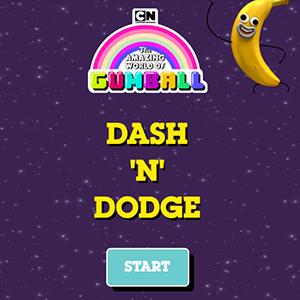 Amazing World of Gumball Dash N Dodge.