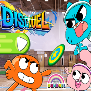 Amazing World of Gumball Disc Duel.