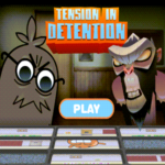 Amazing World of Gumball Tension in Detention Game.