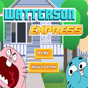 Amazing World of Gumball Watterson Express Game.