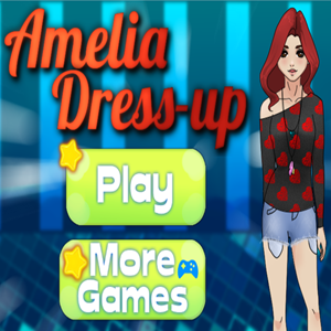 Amelia Dress Up Game.